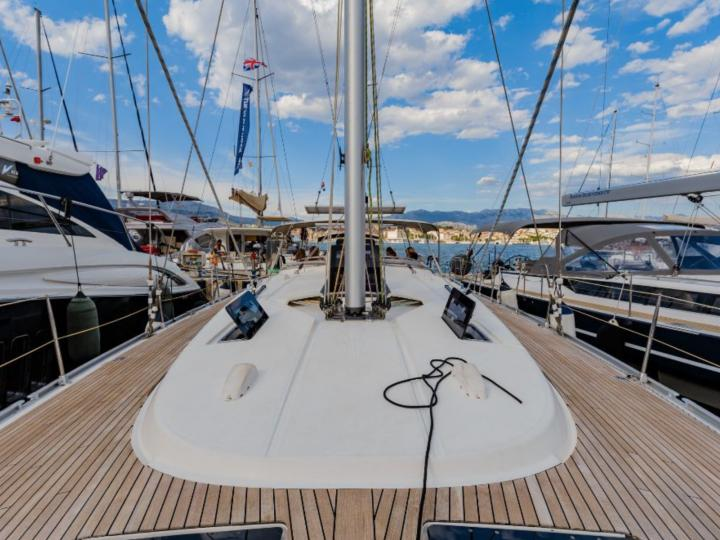 Top sailing yacht for rent in Split, Croatia, for up to 8 guests!