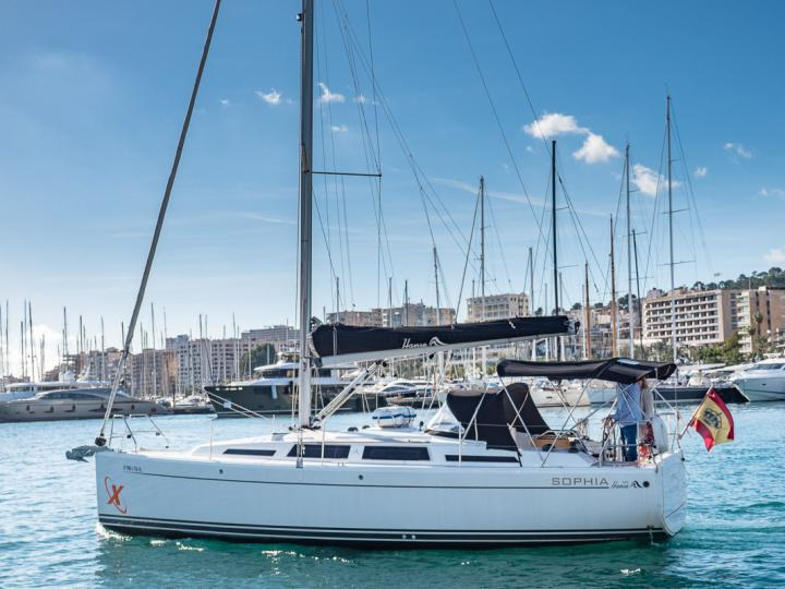 Beautiful Sail Boat for rent in Palma, Spain available for up to 6 people