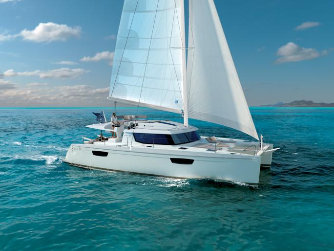 The best yacht charter in Tonnarella, Italy - beautiful catamaran for rent.
