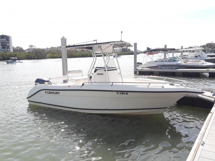 Century 22' Center Console - Scenic and sunset tours, dolphin cruises, island hopping and more!