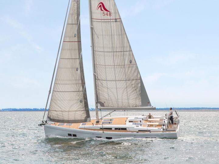 Sail on a beautiful 53ft yacht charter in Split, Croatia - the Supernova II rental sailboat.
