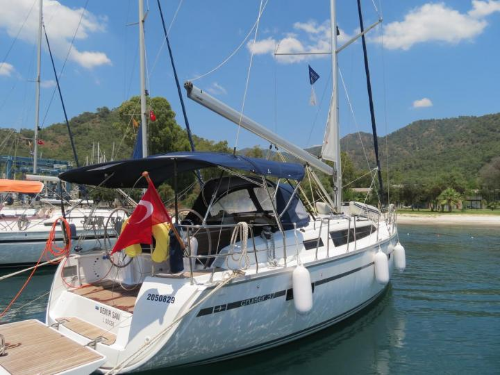 Sail around Göcek, Turkey on a rental boat - the amazing Demir San.