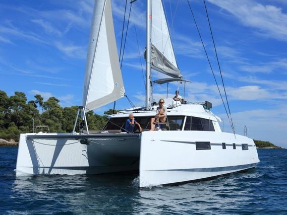 Rent a catamaran in Cagliari, Italy - discover sailing.