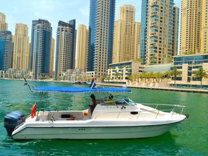 Best 35ft Boat For Cruising in Dubai