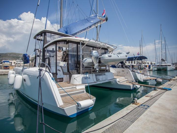 Adriatic sea in Croatia boat rental - discover vacation on a catamaran for up to 8 guests.