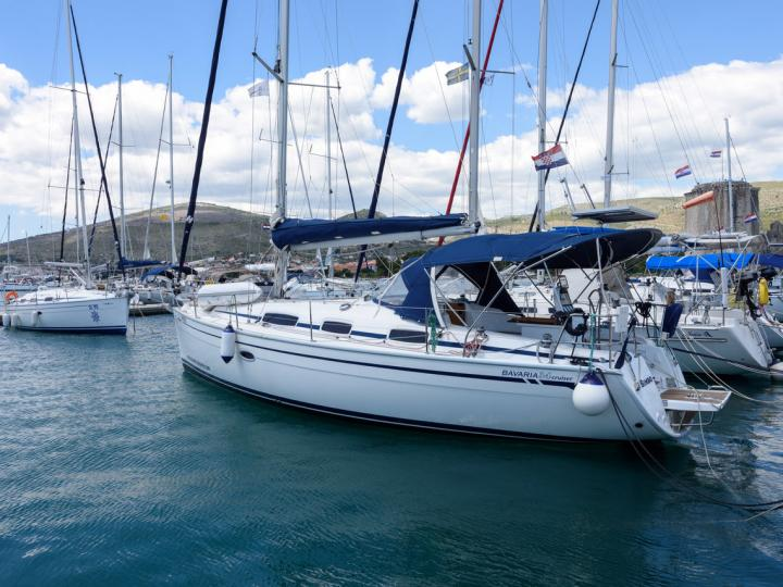 The best boat rental in Trogir, Croatia - the Bimbo yacht charter.
