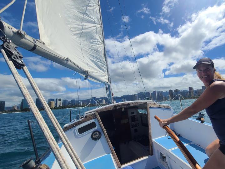 Catalina 27 Sailboat Waikiki