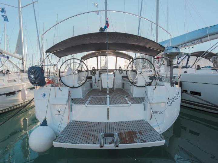 Charter a sailboat in Trogir, Croatia - rent the Candy boat for 10 guests.