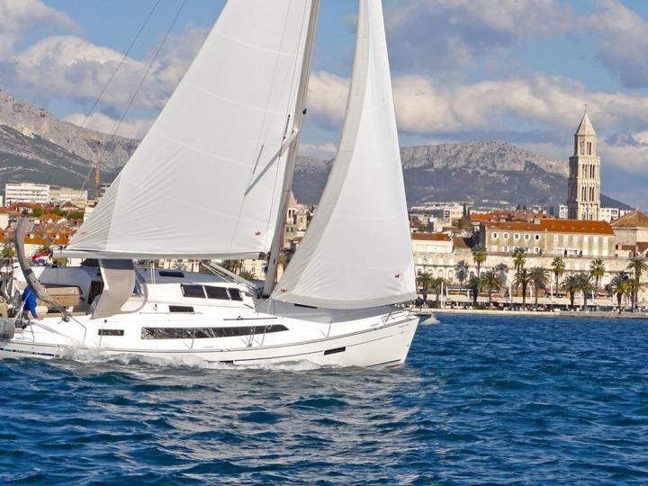 Yacht charter near Split, Croatia.