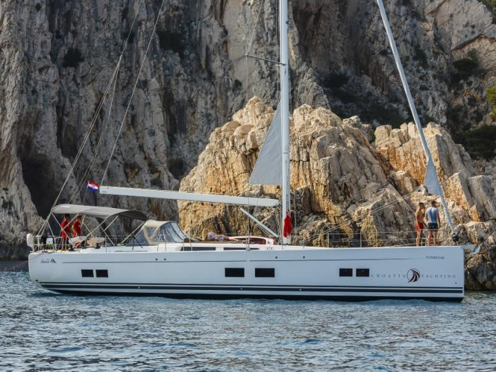 Rent a sail boat in Split, Croatia - the Superstar yacht charter.