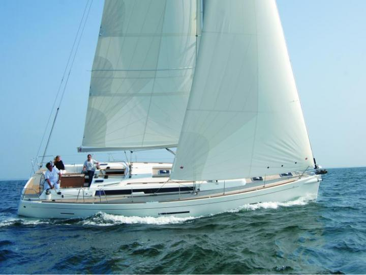 Rent a 44ft sailboat in Marsala, Italy and enjoy a boat trip on a yacht charter.