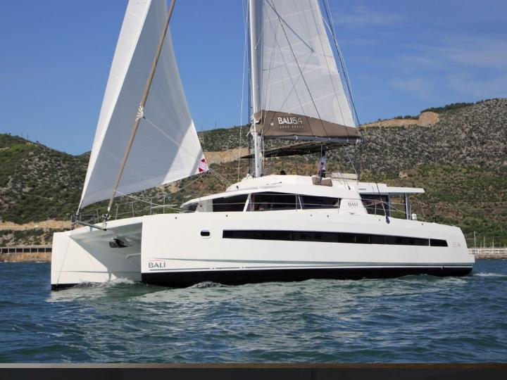 Private Catamaran boat in Le Marin, Caribbean Netherlands for up to 12 guests.
