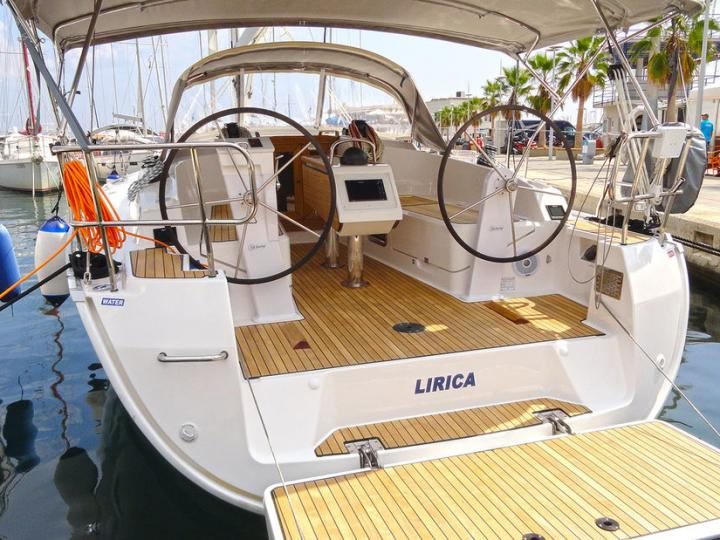 Split, Croatia yacht charter - for up to 6 guests.