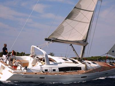 Sail the waters of Portocolom, Spain aboard this great sailboat for rent.