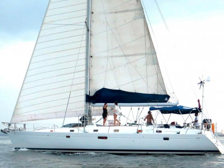 Cartagena, Colombia yacht charter - rent a boat for up to 8 guests.