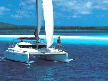Cruise the beautiful waters of Marmaris, Turkey, aboard this great catamaran for rent.