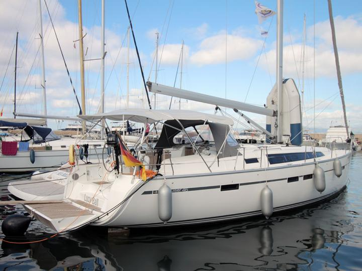 A beautiful 47ft boat for rent in Palma, Spain - the best vacation trip on a yacht charter.