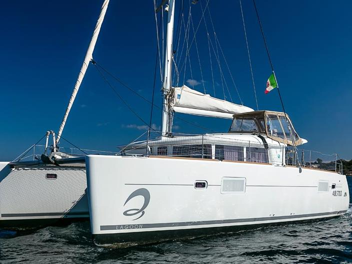 Yacht charter in Portisco, Italy - rent a boat for up to 8 guests.