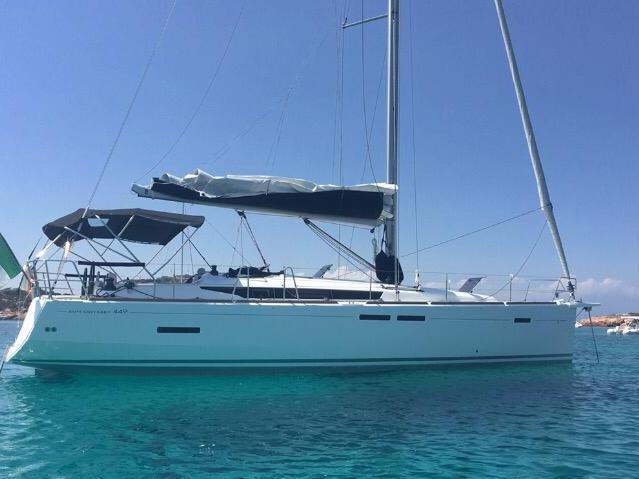 Portisco, Italy yacht charter for up to 8 guests.