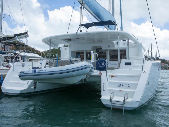 Catamaran charter in BVI - 46ft Lagoon 450 Stella