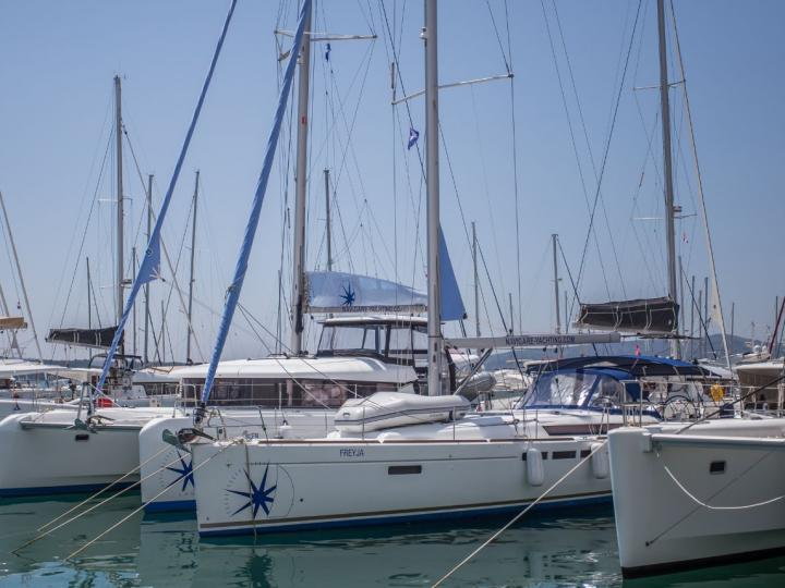 Sail on this beautiful, spacious 52ft sailboat in Adriatic sea, Croatian area - the ultimate vacation trip on a yacht rental.