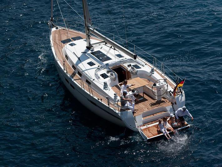Rent a 47ft sail boat in Trogir, Croatia and enjoy a boat trip on a yacht charter.