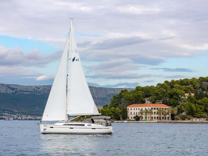 Sail on the waters of Split, Croatia, aboard this great rental boat.