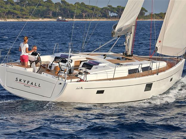 Sail around Split, Croatia on this yacht charter - the amazing Jenny boat for rent.