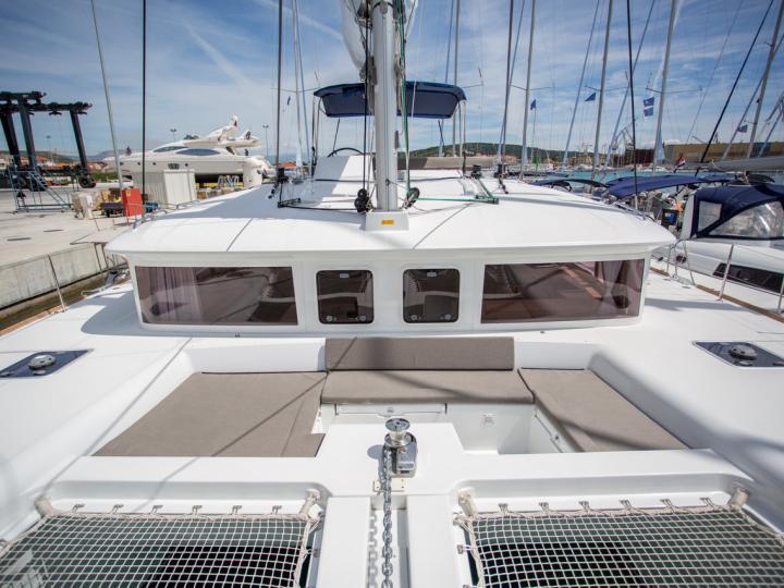 Catamaran charter in Palma de Malllorca, Spain - rent a catamaran for up to 8 guests.