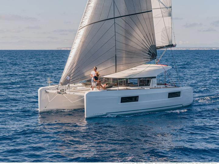 BVI catamaran charter in Road Town - the perfect vacation on a boat for up to 8 guests.