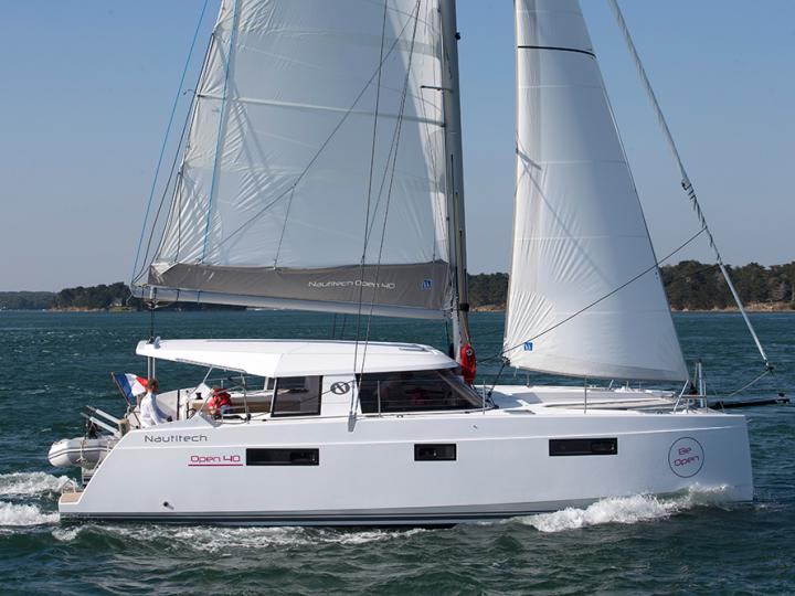 Sail around Portocolom, Spain on a catamaran for rent - rent the amazing NomElli boat and discover sailing.