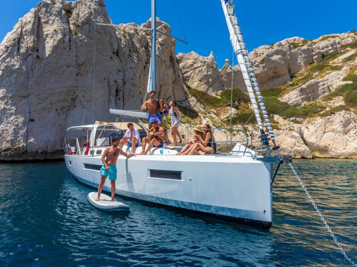 Seget Donji, Croatia sailboat rental - charter this boat, a perfect option for up to 12 guests.