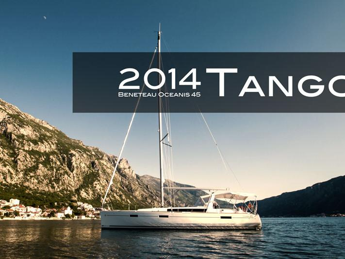 Rent a private boat in Tivat, Budva, Montenegro - the Tango yacht charter for 8 guests.