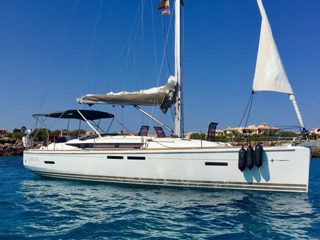 A boat for rent - in Portocolom, Spain can offer aboard a sail boat.