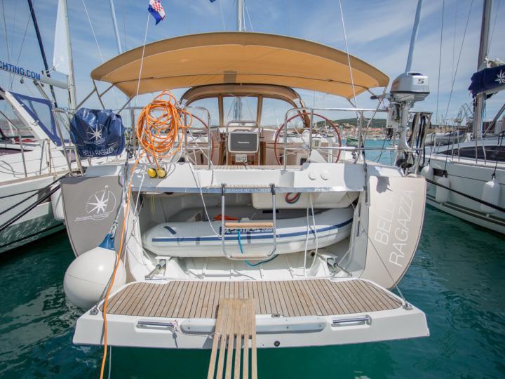 Gret sailboat for rent in Split, Croatia.
