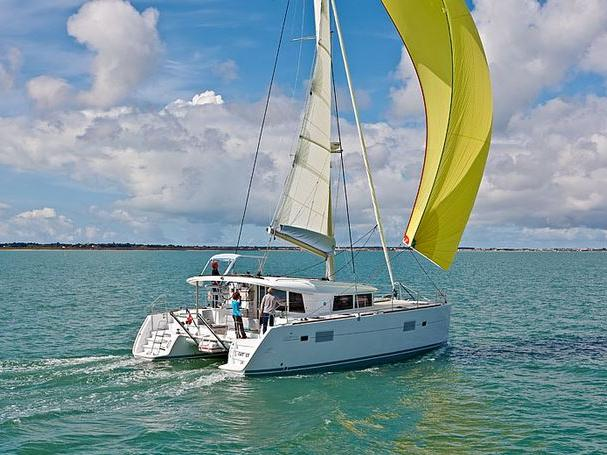 Sail on a catamaran for rent in Split, Croatia - enjoy a great vacation trip on a yacht charter for 8 guests.
