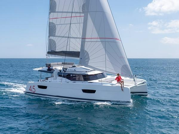 Pawlowski - a 44ft catamaran for rent in Scrub Island, British Virgin Islands.