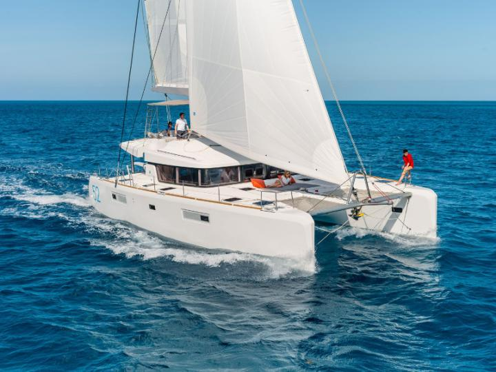 Why Fy - a 5 cabins 52ft boat for rent in Sant Antoni de Portmany, Ibiza, Spain. Enjoy a great yacht charter for 10 guests.