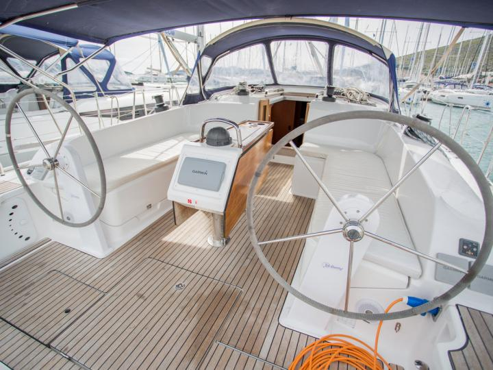Amarone - a 47ft sail boat for rent in Tortola, BVI. Enjoy a great boat charter for 8 guests.