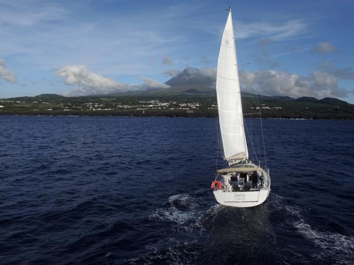 Cruise the beautiful waters of Azores, Portugal aboard this great boat for rent.