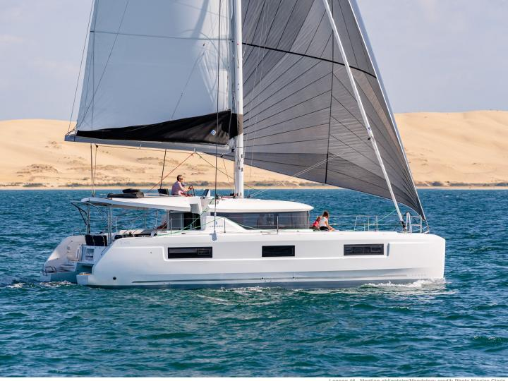 Spectacular New Lagoon 46' Family Yacht in Road Town, BVI rent a catamaran today.