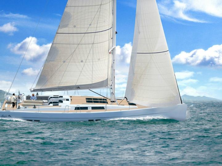 Imagine I - a lovely 56ft sailboat for rent near Split, Croatia. Enjoy a sun soaked boat charter for 8 guests.