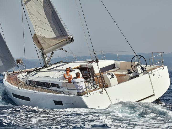 Cruise the beautiful waters of Portisco, Italy, aboard this great sail boat for rent.