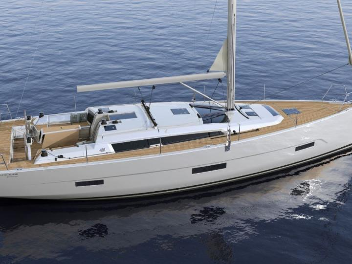 Private boat for rent in Newport, United States for up to 8 guests.