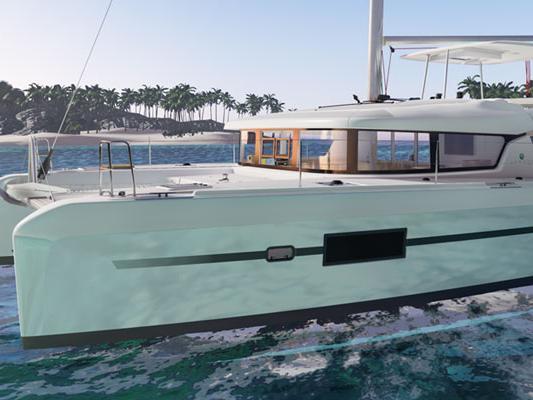 Yacht charter in San Gregorio-bagnoli, Italy - an 8-guest catamaran for rent.