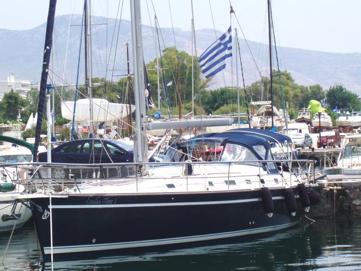 Come and explore the coves of Greece safely with the luxury sailing boat Sofia Star 1