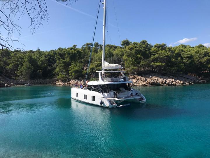 Rent a catamaran near Split, Croatia and discover boating on a catamaran.