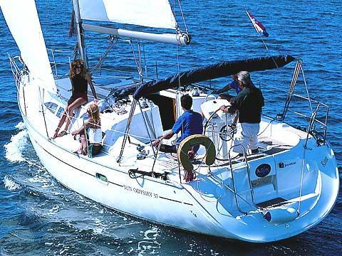 Charter a sail boat in Scarlino, Italy - perfect vacation for up to 6 guests.