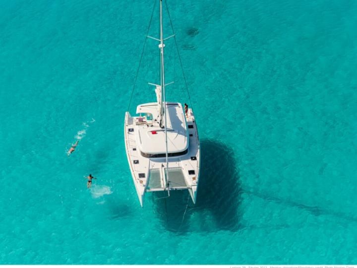 An exceptional catamaran charter in Seget Donji, Croatia - rent a catamaran for up to 12 guests in total comfort.