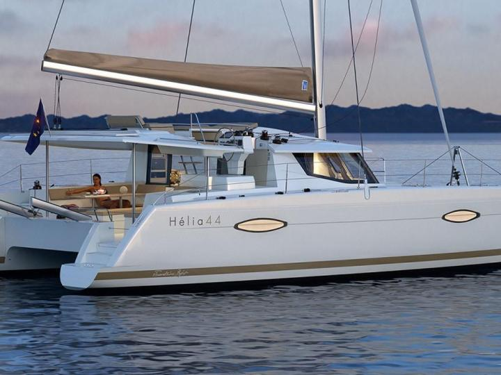 Palma, Spain yacht charter - rent a catamaran for up to 8 guests.